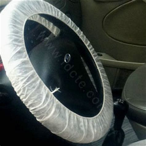 Disposable Car Steering Wheel Cover Nonwoven Packed In Roll For Auto Repairing