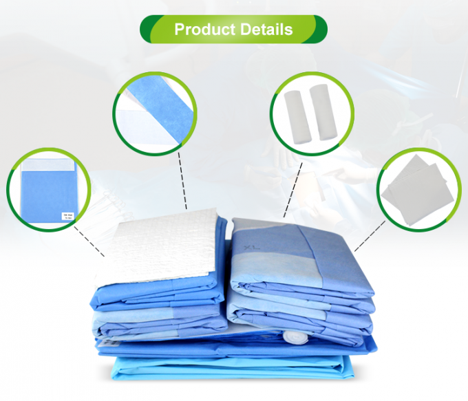 EO Sterile Disposable Surgical Packs TUR Drape Pack, TUR Pack With ISO13485 Certificate