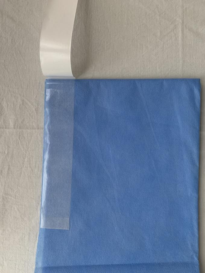 High Efficiency Disposable Surgical Drapes With Adhesive Side SMS Material