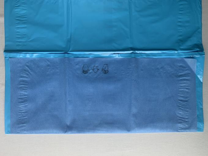 Long Life EO Sterile Disposable Drapes Non - Toxic Customized Size Mayo Drape