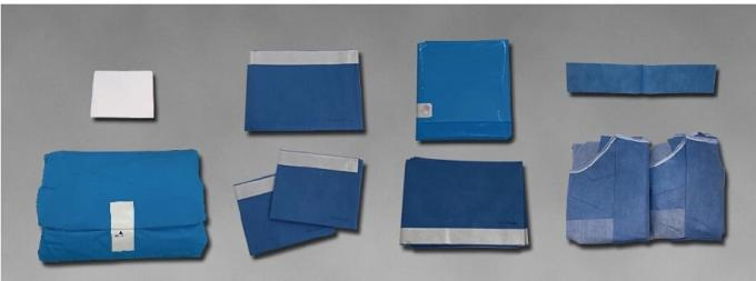 Latex Free Disposable Surgical Drapes,Nonwoven Single Plain Sterile Drape For Neurology