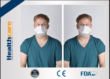 China N95 Disposable Respirator Dust Protection Mask Foldable Anti Pollution Non Woven supplier