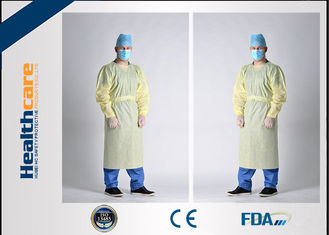 Waterproof SBPP+PE Disposable Protective Gowns ,SMS Surgical Gowns Standard Sterile