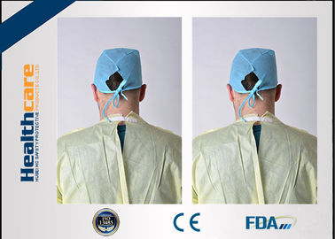 China Antibacterial Disposable Protective Gowns Medical Apron ISO13485 CE Approved supplier