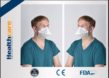 China 4 Ply 3 Ply Foldable Disposable Safety Face Mask With Beard Cover Respirator Duck Shape supplier