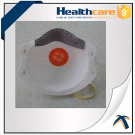 China Earloop Disposable PM2.5 Face Mask NIOSH N95 Pollution Mask With Exhalation Valve supplier