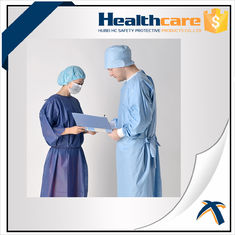 China Medical Disposable Surgical Head Cover With Single Elastic And Absorbable Tape supplier