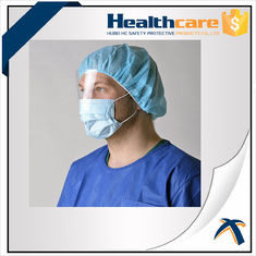 China Breathable Disposable Head Cap for Industrial Food Processing And Critical Environment supplier