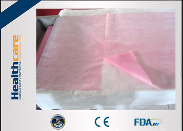 Non Woven PP Disposable Waterproof Sheet Protector For Exam Table / Couch In Roll