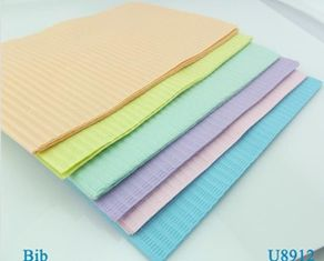 China CE ISO Approved Disposable Patient Bibs for Dental Use Sterilization Pouch Packing supplier