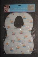China Eco Friendly Nonwoven Disposable Baby Bibs For Feeding SGS CE ISO OEM Service supplier