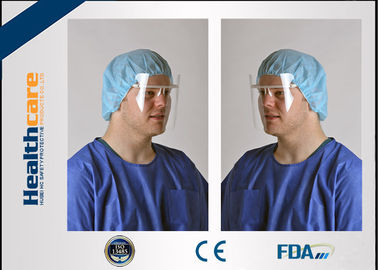 China Anti Fog Disposable Medical Face Shield Mask For Clinc , Hospital , Restaurant supplier