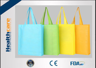 China 100% Polypropylene Nonwoven Carry Bags Handle Bag With Customized Logo supplier