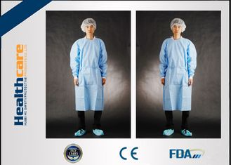 China SMS Disposable Surgical Gowns Medical Garments For Surgery Operating S-5XL supplier
