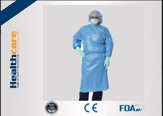 China Sbpp Blue Disposable Isolation Gowns S-6XL Thumb Loops Garments  In AAMI Level 1,2,3​ supplier