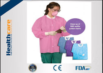 China Childrens Disposable Lab Coats S-4XL , Medical Disposable Hospital Scrubs supplier