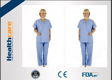 China Colorful Disposable Operating Scrubs Now-woven For Laboratory Anti - Bacteria With CE supplier