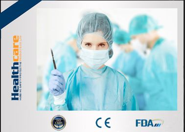 China PE Coated Disposable Sterile Surgical Gowns Waterproof Fluid Resistant CE FDA supplier