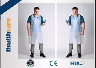 China FDA CE Disposable Patient Bibs And Underpads Medical Colored LDPE HDPE Apron supplier