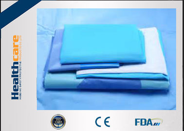 China SMMS EO Sterile General Surgery Drape Disposable Surgical Packs With OP Tape supplier