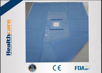 China CE Approved Custom Procedure Packs SMS Eye Drape Sterile For Eye Operation supplier