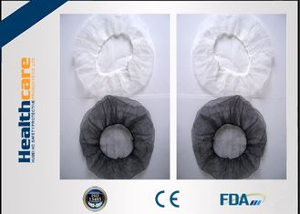 China Colored Disposable Surgical Head Covers Net Cap With Single Or Double Ealstic Edge supplier