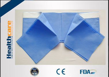 China High Efficiency Disposable Surgical Drapes With Adhesive Side SMS Material supplier