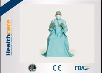 China T.U.R Dispoable Surgical Gown Urology Surgery blue colour SMS EO Sterile supplier
