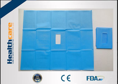 China Waterproof Disposable Surgical Drapes Non-woven Sterile Surgical Sheet Without Tape supplier