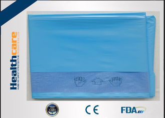 China Long Life EO Sterile Disposable Drapes Non - Toxic Customized Size Mayo Drape supplier