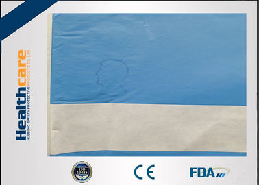 China Latex Free Disposable Surgical Drapes Nonwoven Single Plain Sterile Drape For Neurology supplier