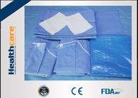 Sterile C - Section Disposable Surgical Packs With Mayo Cover Waterproof