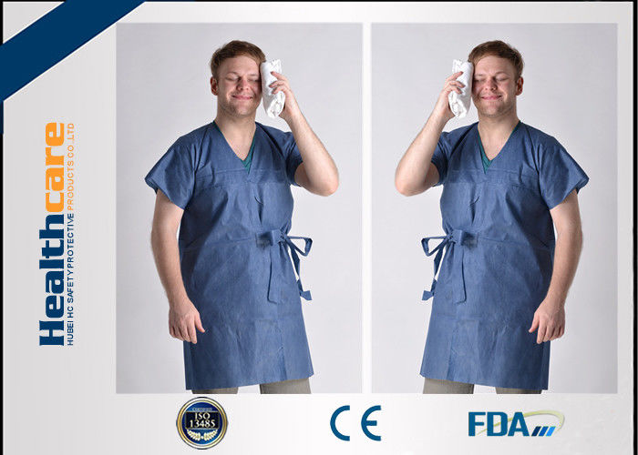 Unisex Medical Disposable Sterile Gowns Protective Wear For ...