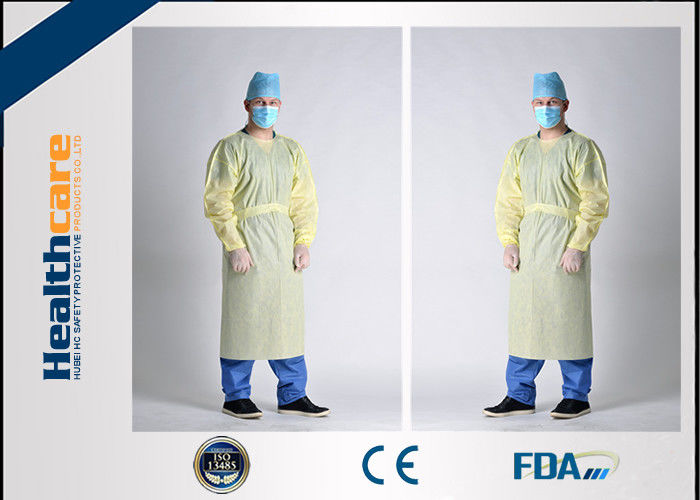 Waterproof SBPP+PE Disposable Protective Gowns ,SMS Surgical Gowns ...