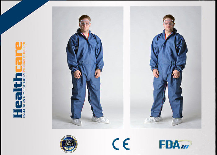 Anti Static Disposable Medical Protective Clothing , Disposable ...