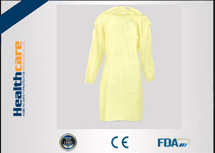 Waterproof Protective Disposable Isolation Gowns Long Sleeve For ...
