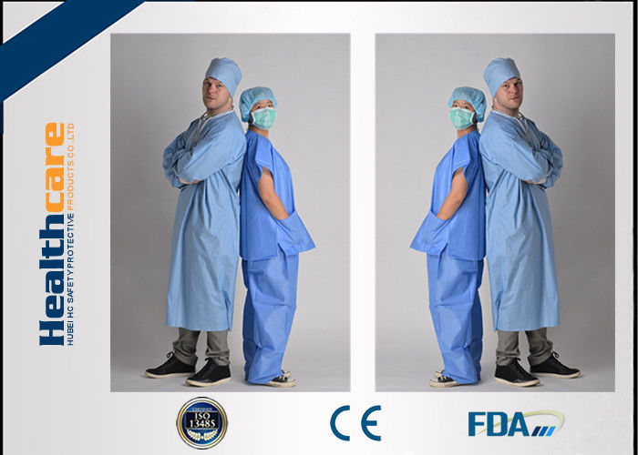 3300854933d Medical Uniform Disposable Scrub Suits V Or Round Neck Style Oil - Resistant