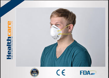 Folded FFP1 FFP2 Disposable Face Mask Niosh Approved Respirator With Earloop