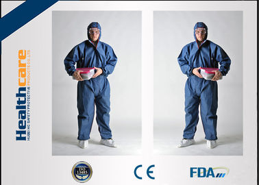 Flame Retardant Disposable Protective Coveralls For Asbestos Removal Anti Static