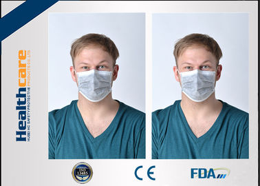 China 4 Ply Disposable Face Mask Anti Dust With Black Active Carbon For Doctors Nurses factory