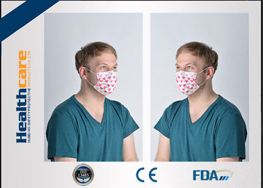 China Hospital Face Mask Surgical Disposable 3 Ply With ISO 13485 / ISO 9001 Approved factory