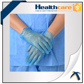 China AQL1.5 PVC Disposable Hand Gloves ,  Powder Free Vinyl Medical Gloves factory