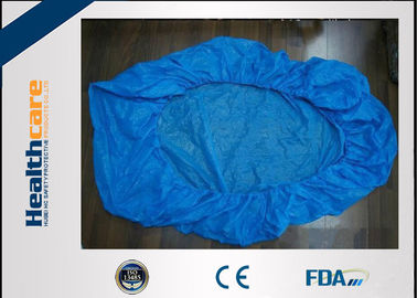 China Blue Disposable Bed Protectors With Elastic Band For Hospital / SPA Daily Use factory