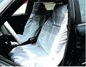 Anti Dust Disposable Car Seat Protectors Auto Seat Covers CE ISO Approved