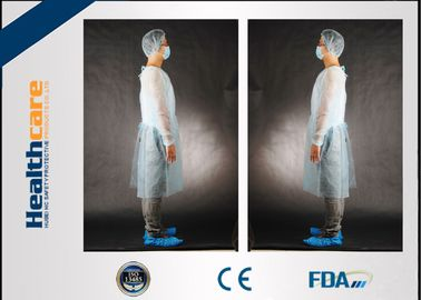 China Colorful Disposable Isolation Gowns PP Surgical Wear 110x137CM With Elastic Cuff factory