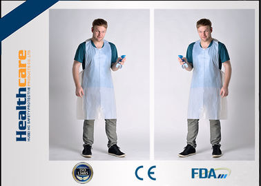 FDA CE Disposable Patient Bibs And Underpads Medical Colored LDPE HDPE Apron