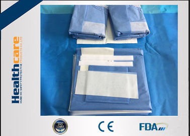 China SMMS Custom Surgical Packs Medical Angiography Pack With EO Gas Sterile factory