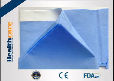 China Blue Color Hip Disposable Surgical Drapes Universal Pack PP + PE Material factory