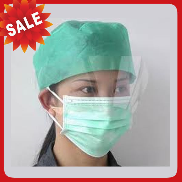 Free Sample Disposable Head Cap Straight Barrel , Surgical Disposable Hats
