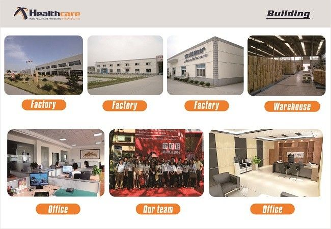 Hubei Healthcare Protective Products Co., Ltd. factory production line 0